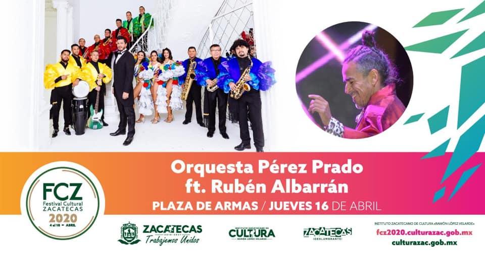 Orquesta Pérez Prado ft. Rubén Albarrán